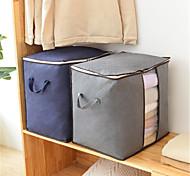 abordables -sac de couette visible résistant à l'humidité respirant armoire à la maison vêtements sac de rangement de finition étanche à la poussière sac de déplacement