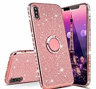 economico -telefono Custodia Per Xiaomi Silicone Resistente agli urti Con supporto Glitterato