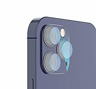 abordables -protecteur d'écran lentille de caméra compatible avec l'iphone 12pro / pro max, ultra hd en fibre de verre transparent film de lentille de caméra arrière protecteurs d'écran anti-rayures compatibles