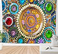abordables -mandala tapisserie murale bohème art décor couverture rideau pique-nique nappe suspendue maison chambre salon dortoir décoration boho hippie motif bijou vues de beauté