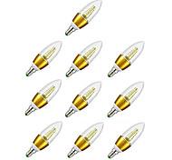 abordables -10 pcs E14 LED Bougie Ampoule 5 W 7 W Lampe À Économie D'énergie Projecteur Bombilla Lampara Lustre Pour La Décoration Intérieure