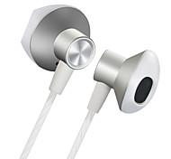 """economico -LITBest 2 Auricolari in-ear cablato """"Jack audio da 3,5 mm"""" Stereo Doppio driver Dotato di microfono per Apple Samsung Huawei Xiaomi MI Sport Fitness"""