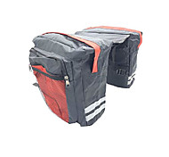 economico -borsa portapacchi posteriore borsa da bici borsa da bicicletta borse da sella per bici militari per arrampicata (rosso, 23l)