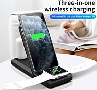 abordables -litbest 3 en 1 chargeurs sans fil kit de chargeur 3 en 1 chargeurs sans fil rohs
