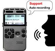 economico -professionale hd digitale vocale registrazione a un pulsante riduzione del rumore riduzione del dittafono 8g registratore di grande capacità espansione supporto ricarica usb