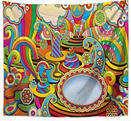 abordables -mandala bohème mur tapisserie art décor couverture rideau pique-nique nappe suspendu maison chambre salon dortoir décoration boho hippie polyester magie dessin animé