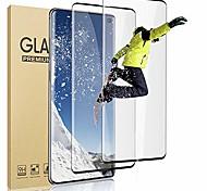 economico -telefono Proteggi Schermo Samsung S21 S21 Plus S21 Ultra S20 S20 Plus Vetro temperato 2 pz Alta definizione (HD) Durezza 9H Anti-graffi Proteggi-schermo frontale Appendini per cellulare