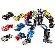 abordables -Blocs de Construction 518 pcs Robot compatible ABS + PC Legoing Simulation Tous Jouet Cadeau / Enfant