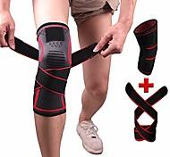 abordables -manchon de compression pour genouillère avec sangle pour un meilleur maintien& soulagement de la douleur pour la déchirure du ménisque, l'arthrite, la course à pied, le basketball, le mcl, le