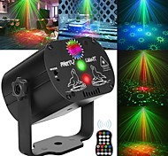 abordables -60 modèles Laser Stage Light LED USB Charge Party RVB LED Disco Light DJ Tête Mobile Lampe De Projection Laser Éclairage De Scène