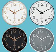 economico -orologio da parete silenzioso di moda orologio da parete in scala digitale stereo creativo 30 * 30 cm