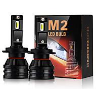 abordables -feux de voiture h4 led h7 16000lm h1 h3 h8 h11 led atuo lampe pour phare de voiture ampoule hb3 hb4 9005 9006 turbo ampoules led 12v