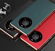 economico -telefono Custodia Per Huawei Integrale Custodia in pelle Mate 40 Mate 40 Pro Mate 40 Pro + Resistente agli urti Tinta unica pelle sintetica