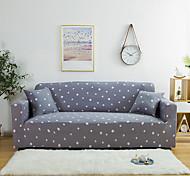 economico -copridivano 1 pezzo grigio punto d'onda fodera morbida elasticizzata per poltrona da 1 ~ 4 cuscini / divanetto / tre posti / quattro posti / divano a forma di l, facile da installare (1 fodera per