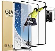 economico -telefono Proteggi Schermo Samsung S21 S21 Ultra S20 S20 Plus S20 ultra Vetro temperato 2 pz Alta definizione (HD) Durezza 9H Anti-graffi Protezione dell'obiettivo della fotocamera Appendini per