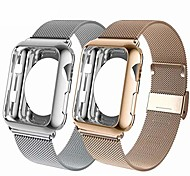 economico -compatibile con cinturino Apple Watch 38mm 40mm 42mm 44mm con custodia protettiva per lo schermo, cinturino sostitutivo per cinturino compatibile serie iwatch 6 / se / 5/4/3/2 / 1,2pack, bronzo oro /