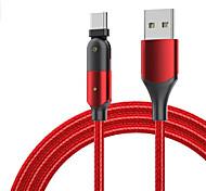 economico -Micro USB USB C Cavi Alta velocità Carica rapida Trasmissione dati 2.4 A 1,2 m (4 piedi) PVC Per Xiaomi MI Samsung Xiaomi Appendini per cellulare