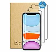 economico -telefono Proteggi Schermo Apple iPhone 12 iPhone 11 iPhone 12 Pro Max iPhone XR iPhone 11 Pro Vetro temperato 3 pezzi Alta definizione (HD) Anti-graffi Transparente Proteggi-schermo frontale
