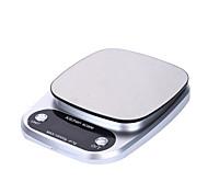 abordables -balance de cuisine numérique balance de nourriture 10kg balance de poids multifonction cuisson électronique& balance de cuisson avec écran LCD argenté