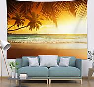 abordables -Tapisserie murale art décor couverture rideau pique-nique nappe suspendu maison chambre salon dortoir décoration polyester hawaii plage