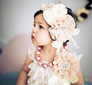economico -1 pz Bambino (1-4 anni) Da ragazza Dolce Fantasia floreale Pizzo / Stile Floreale Accessori per capelli Bianco / Nero / Blu