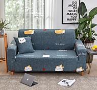 economico -copridivano copridivano proteggi mobili copridivano morbido elasticizzato fodera super estensibile stampa cartone animato poltrona/divano a due posti/tre posti/quattro posti/divano a L