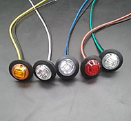 economico -sencart 10 pz lampadine per moto / auto luci di posizione 3 led luci di parcheggio marcatore a led 12v luci di rimorchio per indicatori di direzione laterali per camion luci di segnalazione a led /