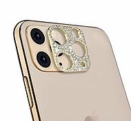 economico -protezione per obiettivo della fotocamera per iphone 11 pro / iphone 11 pro max, protezione dell'autoadesivo della copertura dell'obiettivo della fotocamera del diamante bling progettato per iphone 11