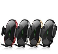 economico -caricabatterie wireless t8 supporto per telefono con ricarica magnetica caricabatterie wireless per auto a induzione intelligente supporto per telefono cellulare caricabatterie rapido 15w con testa