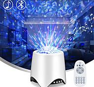 abordables -star projecteur veilleuse bluetooth musique haut-parleur 14 modèle d'éclairage légèreté réglable avec télécommande projecteur de vague de l'océan étoilé pour enfants chambre cadeaux de fête