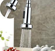 abordables -modes multifonctionnels extractible technologie d'économie d'eau de pulvérisation robinet de cuisine remplacement douche tête de pulvérisation abs buse de cuisine en plastique