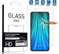 economico -compatibile con xiaomi redmi note 8 pro protezione per schermo [1 confezione] pellicola protettiva per telefono cellulare impermeabile antigraffio ad alta definizione vetro temperato per xiaomi redmi