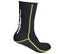 abordables -SLINX Chaussettes Néoprène 3 mm Néoprène Antidérapant Plongée Surf Sports nautiques - pour Adultes