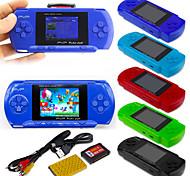 abordables -268 Games in 1 Consoles de Jeu Portative Console de jeu Mini poche portable portable Thème classique Jeux vidéo rétro avec 2 pouce Écran Enfant Adulte Garçon Fille 1 pcs Jouet Cadeau