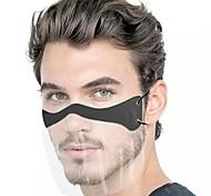 abordables -10 pcs masque facial anti-éclaboussures jetable transparent masque de protection anti-poussière masque pour adulte