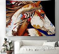 abordables -Tapisserie murale art décor couverture rideau pique-nique nappe suspendu maison chambre salon dortoir décoration polyester couleur cheval