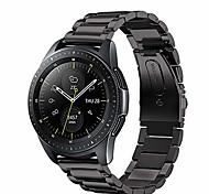 economico -cinturini compatibili con huawei watch gt 2 cinturino da 46 mm, cinturino di ricambio in metallo in acciaio inossidabile da 22 mm per huawei watch gt 2 2019 bluetooth smartwatch 46 mm (nero)