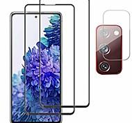 economico -[2 +1] per samsung galaxy s20 fe 5g protezione per schermo termperd glass [protezione per obiettivo della fotocamera] [antigraffio] [senza bolle] [adatto per custodia] per s20 fe 5g 2020
