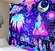 abordables -tapisserie tenture murale art décoration couverture rideau pique-nique table tissu suspendu maison chambre salon dortoir décoration série de contes de fées statue de bouddha boutique monternet