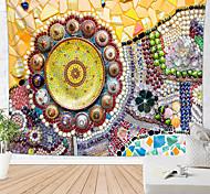 abordables -mandala tapisserie murale bohème art décor couverture rideau pique-nique nappe suspendue maison chambre salon dortoir décoration boho hippie soleil coloré bijou floral vues de beauté