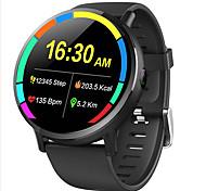 abordables -696 DM19 Homme Montre Connectée Bracelets Intelligents Wi-Fi Bluetooth Ecran Tactile Moniteur de Fréquence Cardiaque Sportif Mode Mains-Libres Contrôle des Fichiers Médias Podomètre Rappel d'Appel