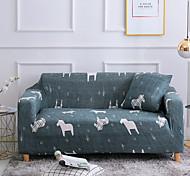 economico -stampa cavallo 1 pezzo copridivano copridivano copridivano fodera per mobili morbida fodera elasticizzata tessuto jacquard spandex super adatta per divano 1 ~ 4 cuscini e divano a forma di l, facile
