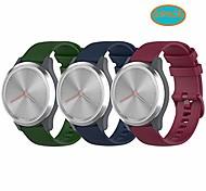 economico -cinturini per orologi ticwatch c2 (oro rosa 18 mm), cinturino da polso con cinturini in silicone a sgancio rapido da 18 mm vivomove 3s adatto per garmin vivoactive 4s, fossil gen 4 q venture hr (verde