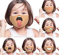 economico -2 pezzi di espressione della personalità divertente maschera di commercio estero per bambini adulti stampa digitale una maschera personalizzata