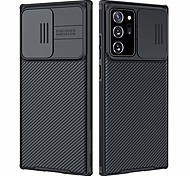 abordables -coque Galaxy Note 20 Ultra Case - Upgrate Camshield Case avec couvercle de caméra Slide, Etui de protection mince pour Samsung Galaxy Note 20 Ultra 6,9 pouces 2020, Noir