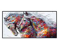 abordables -100% peint à la main art contemporain peinture à l'huile sur toile peintures modernes décoration intérieure de la maison art abstrait cheval peinture grande toile art (toile roulée sans cadre)
