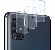 abordables -protecteur d'objectif d'appareil photo compatible galaxy a51, [pack de 3] appareil photo transparent transparent ultra mince protecteur d'objectif d'appareil photo haute définition trempé pour samsung