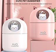 abordables -humidificateur d'air pour chat diffuseur d'huile essentielle de lapin éliminer l'électricité statique technologie de pulvérisation d'air propre 7 lumières de couleur 2021