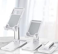 abordables -support de téléphone portable pour bureau support de téléphone de bureau pliable base réglable hauteur et angle support de téléphone support en aluminium en métal compatible avec l'iphone 12 11