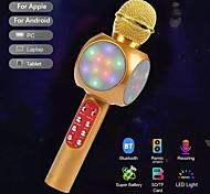 economico -moda ktv microfono wireless portatile altoparlante riverbero condensatore vocale registrazione karaoke suono surround dal vivo